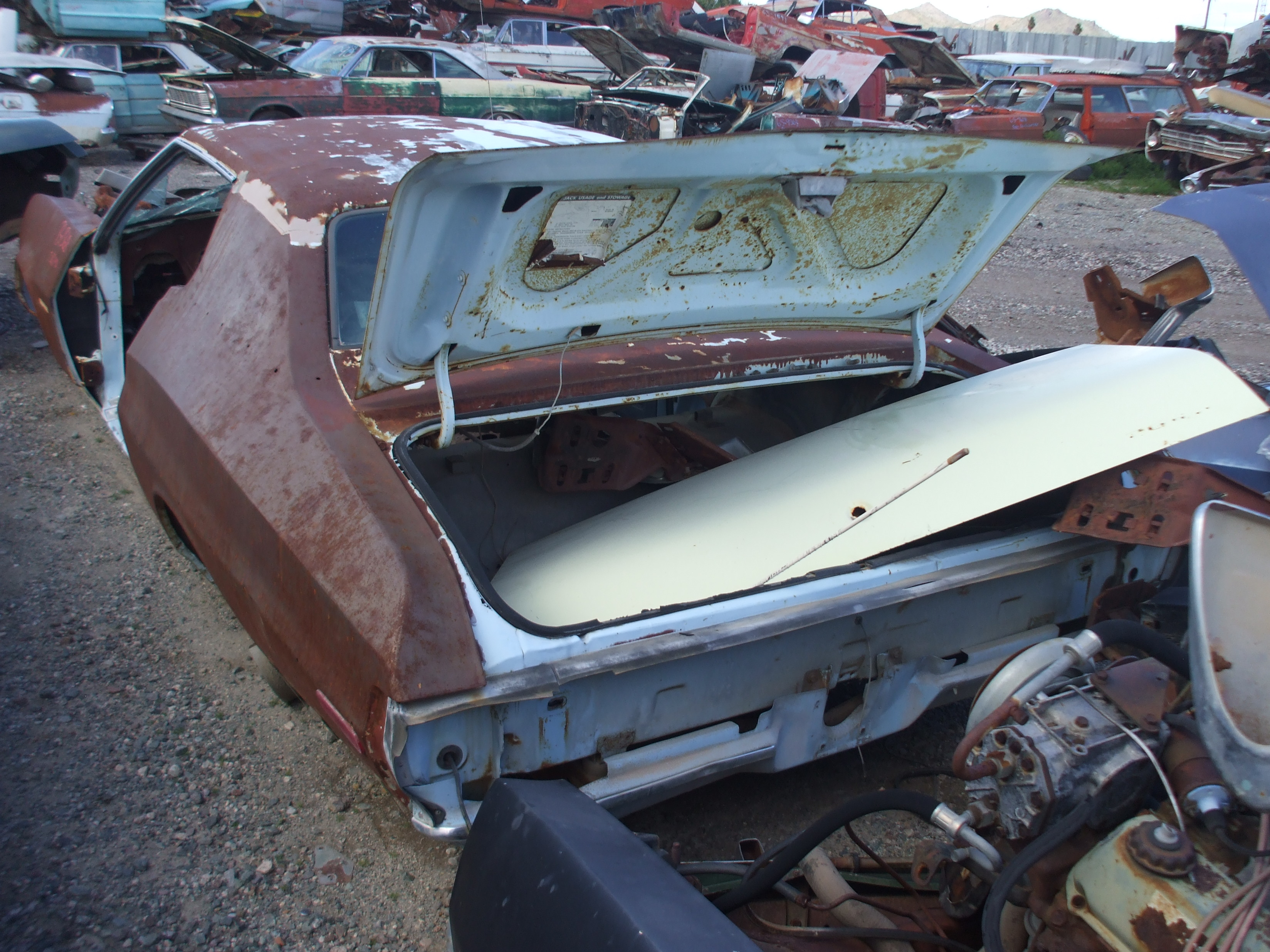 1973 Ford Torino 73fo1368d Desert Valley Auto Parts