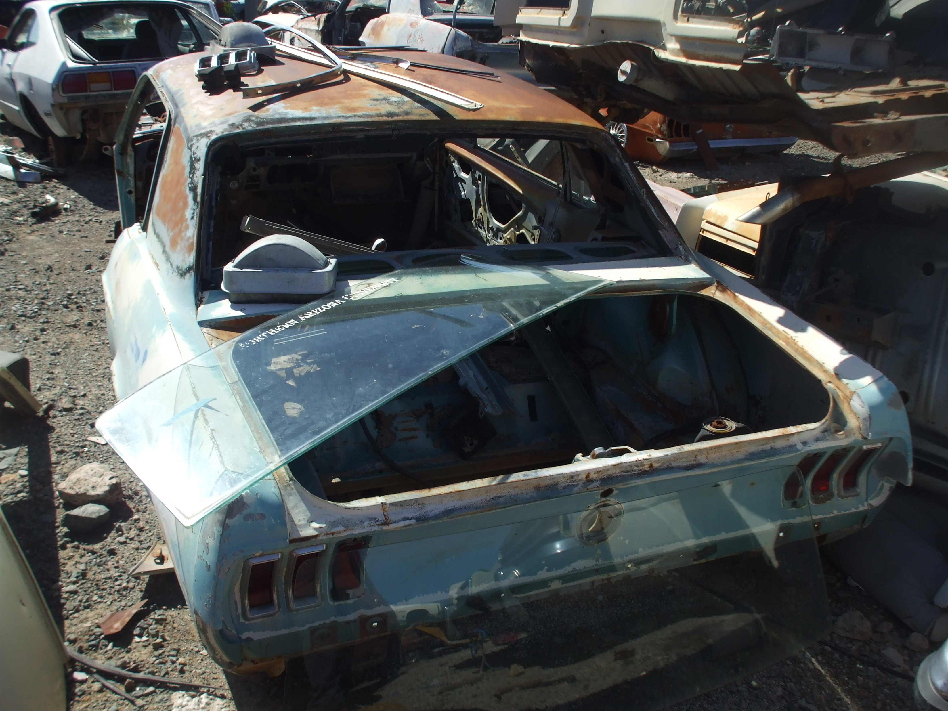 Junkyard Cars For Sale >> 1967 Ford Mustang (#67FO2527D) | Desert Valley Auto Parts