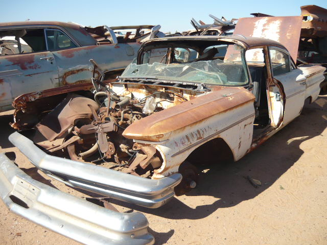 Salvage Cars For Sale >> 1960 Pontiac Catalina (#60PO7364C) | Desert Valley Auto Parts