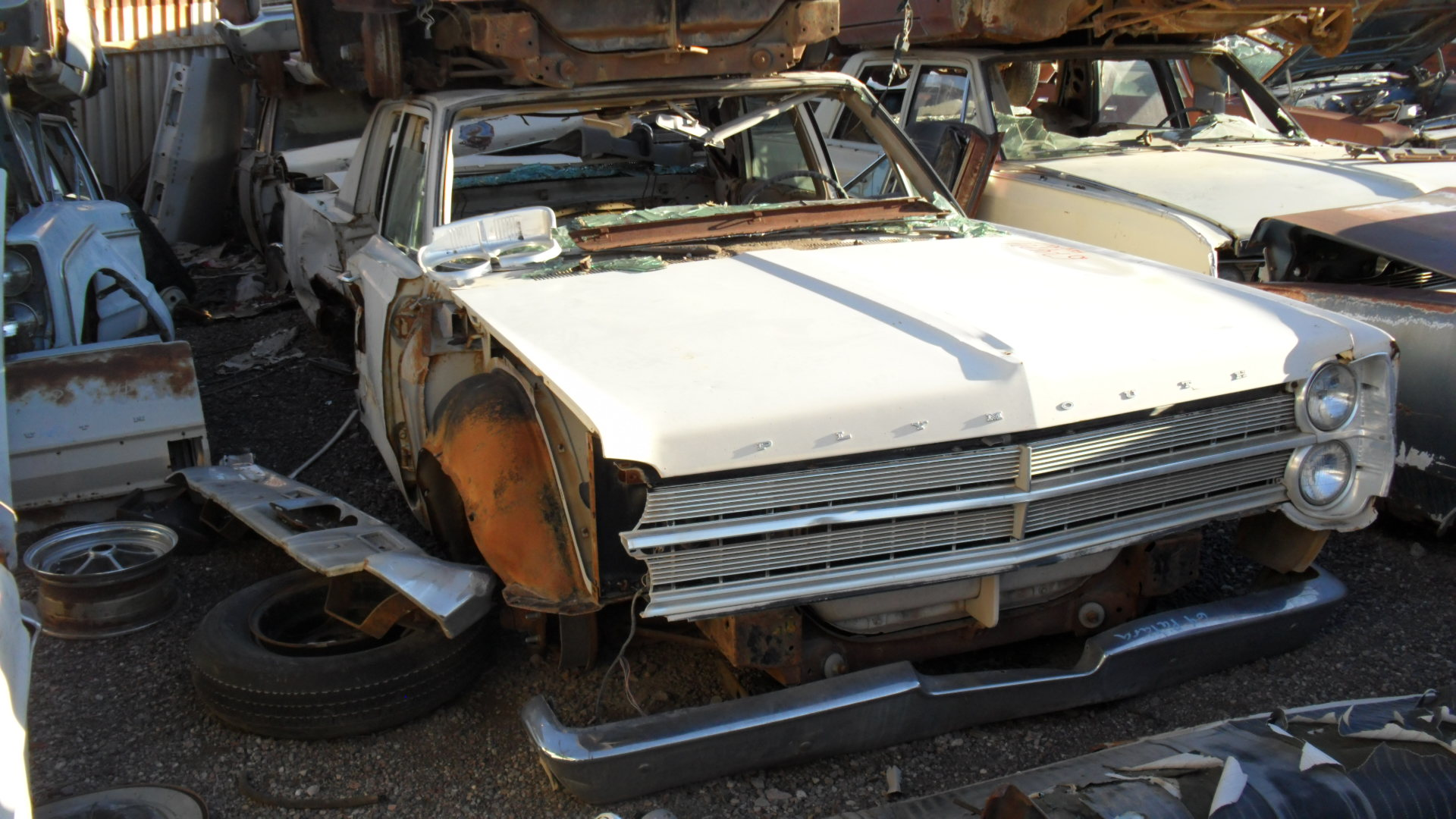 1967 Plymouth Fury 67pl4721d Desert Valley Auto Parts