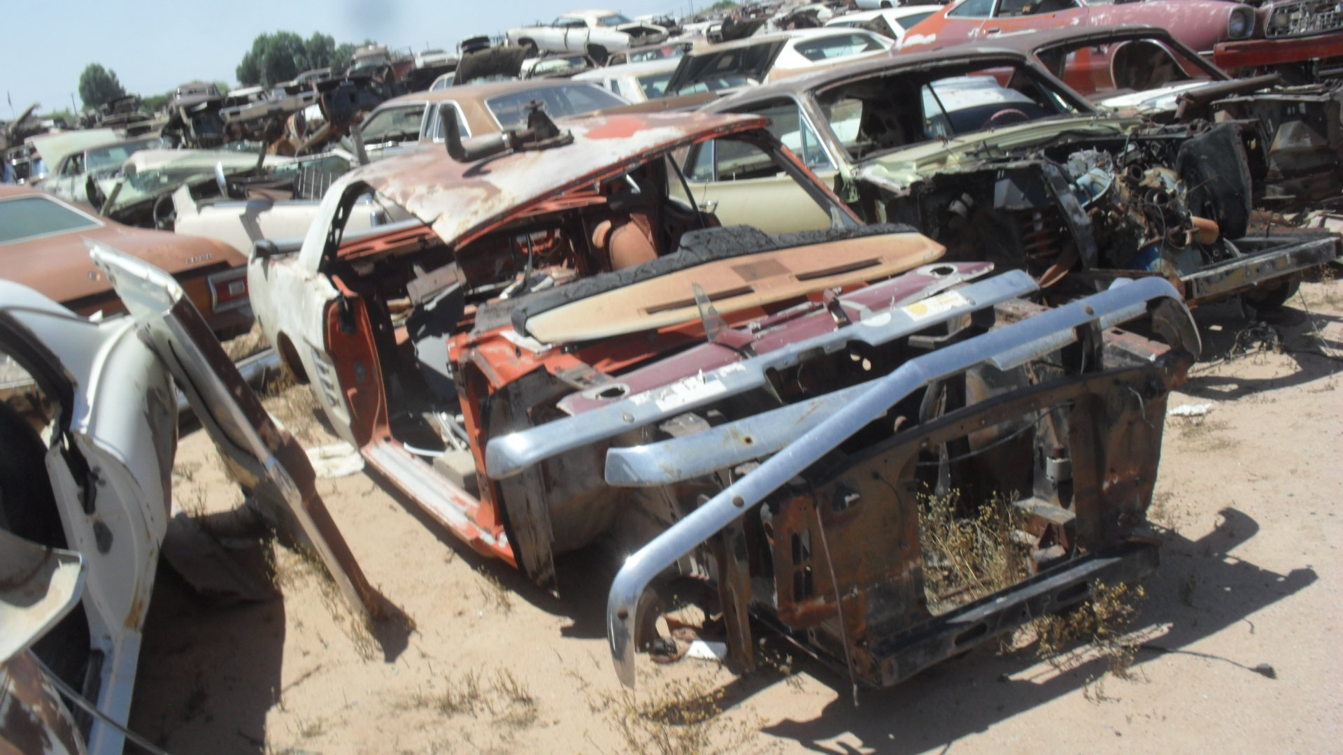 Kings Auto Parts >> 1966 Ford Mustang (#66FO1187C) | Desert Valley Auto Parts