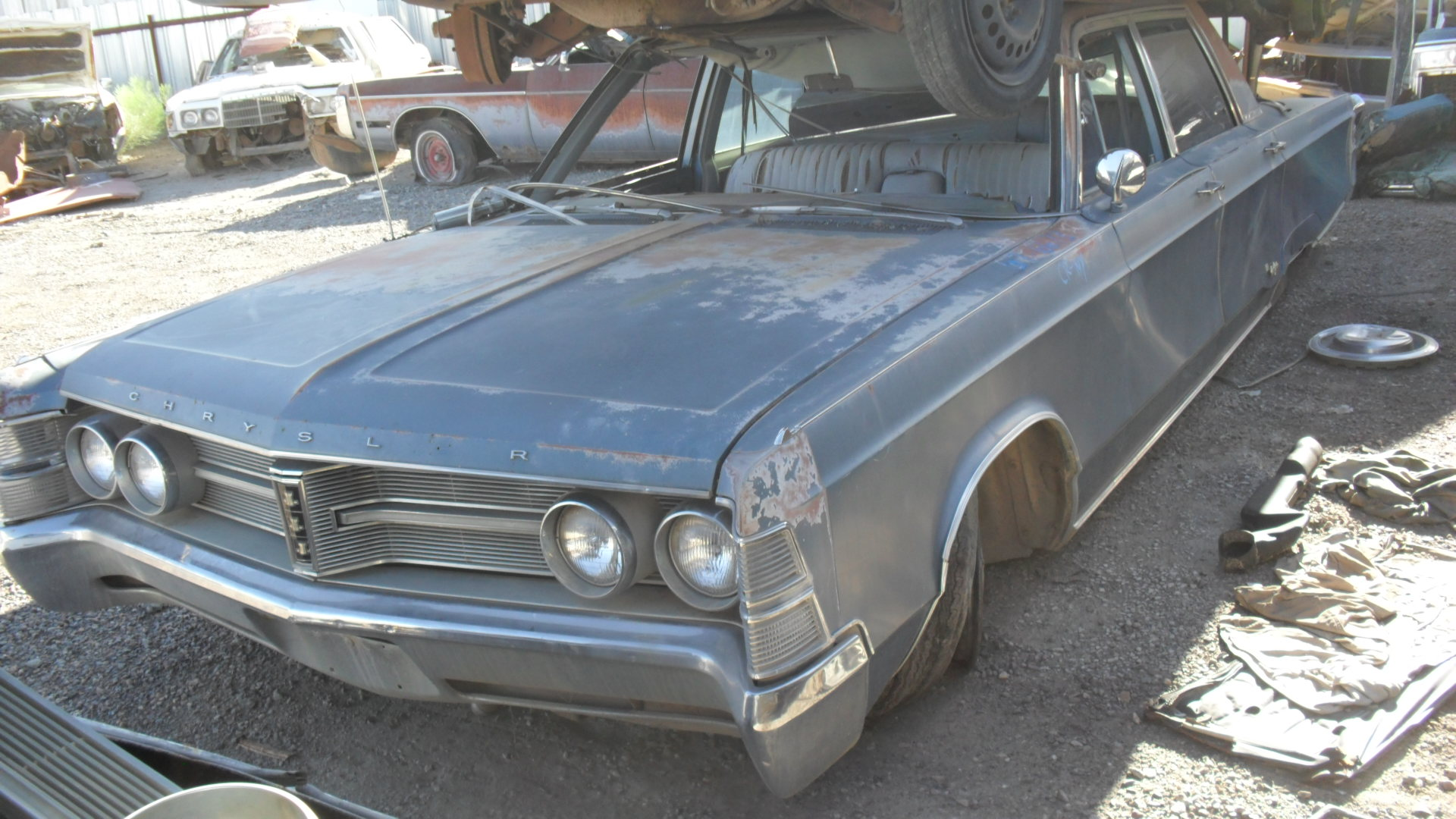 1967 Chrysler New Yorker (#67CR6673D) | Desert Valley Auto ...