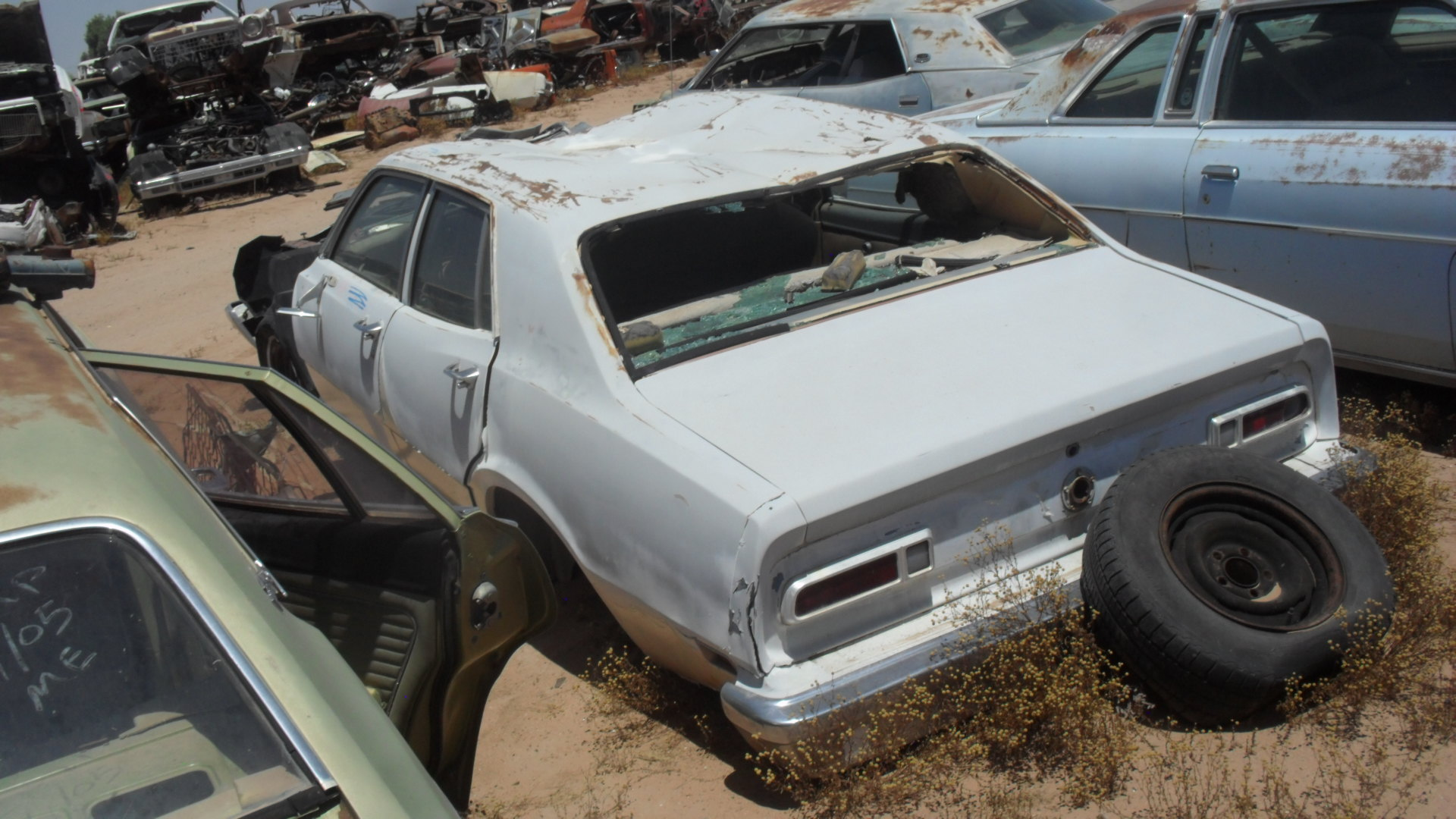 Ford Maverick For Sale >> 1974 Ford Maverick (#74FO6128C) | Desert Valley Auto Parts