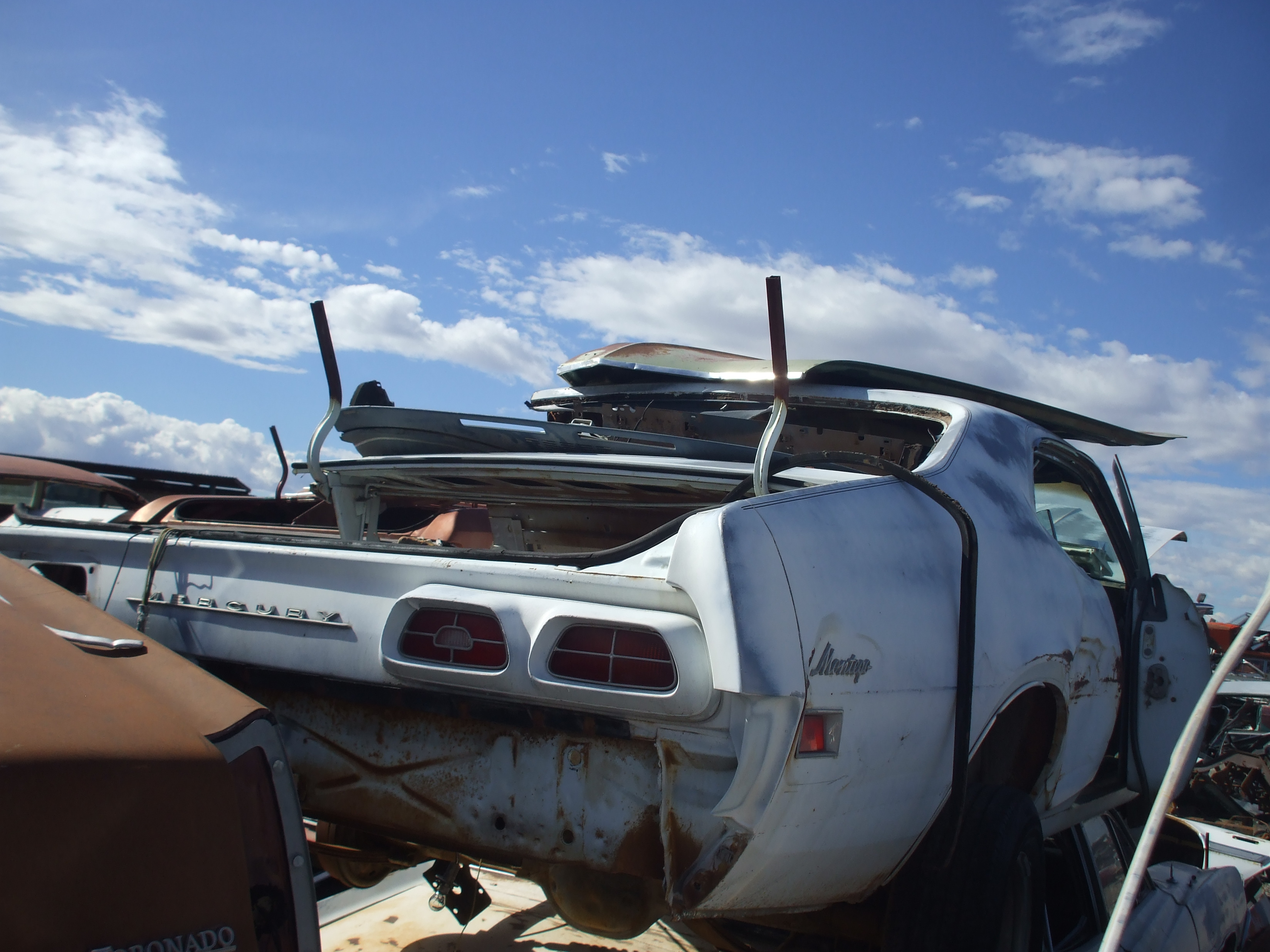 1970 Mercury Montego 70me8813d Desert Valley Auto Parts