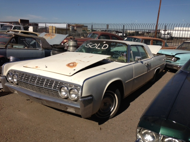 1963 lincoln continental 4dr desert valley auto parts. Black Bedroom Furniture Sets. Home Design Ideas