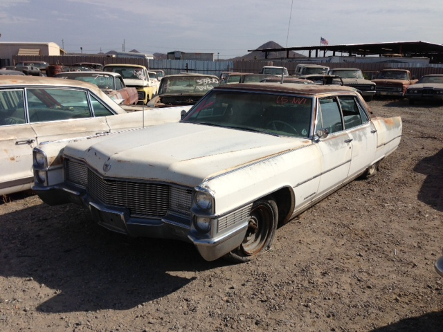 1965 Cadillac Fleetwood (#65CANVD) | Desert Valley Auto Parts
