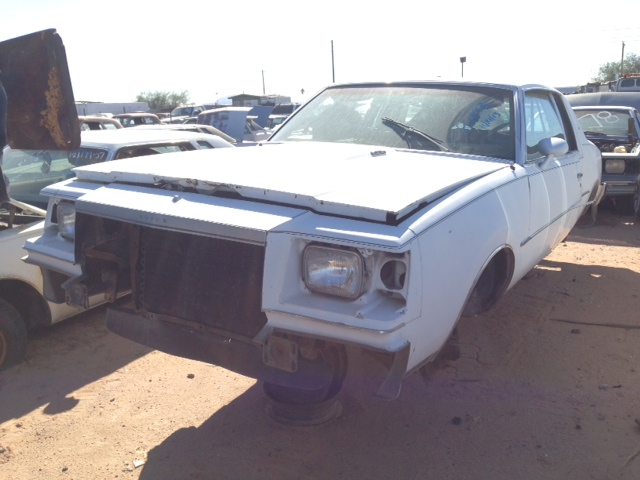 1978 buick regal 78bu4333c for parts only desert valley auto parts. Black Bedroom Furniture Sets. Home Design Ideas
