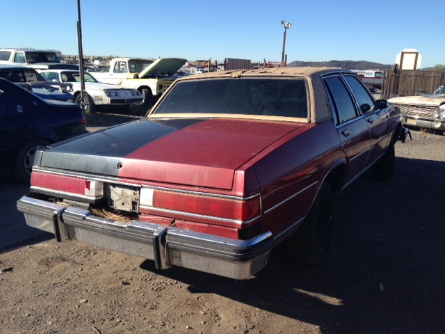 Bu D on 1985 Buick Lesabre 4 Door