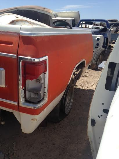 1986 Dodge Pickup Short Bed Fleetside 86dgtbd 700