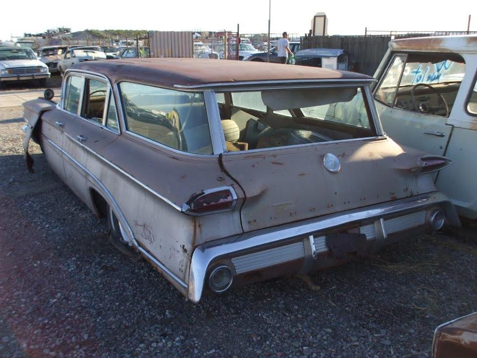 Kings Auto Parts >> 1960 Oldsmobile Fiesta 4dr Station Wagon (#60OL5610D) | Desert Valley Auto Parts