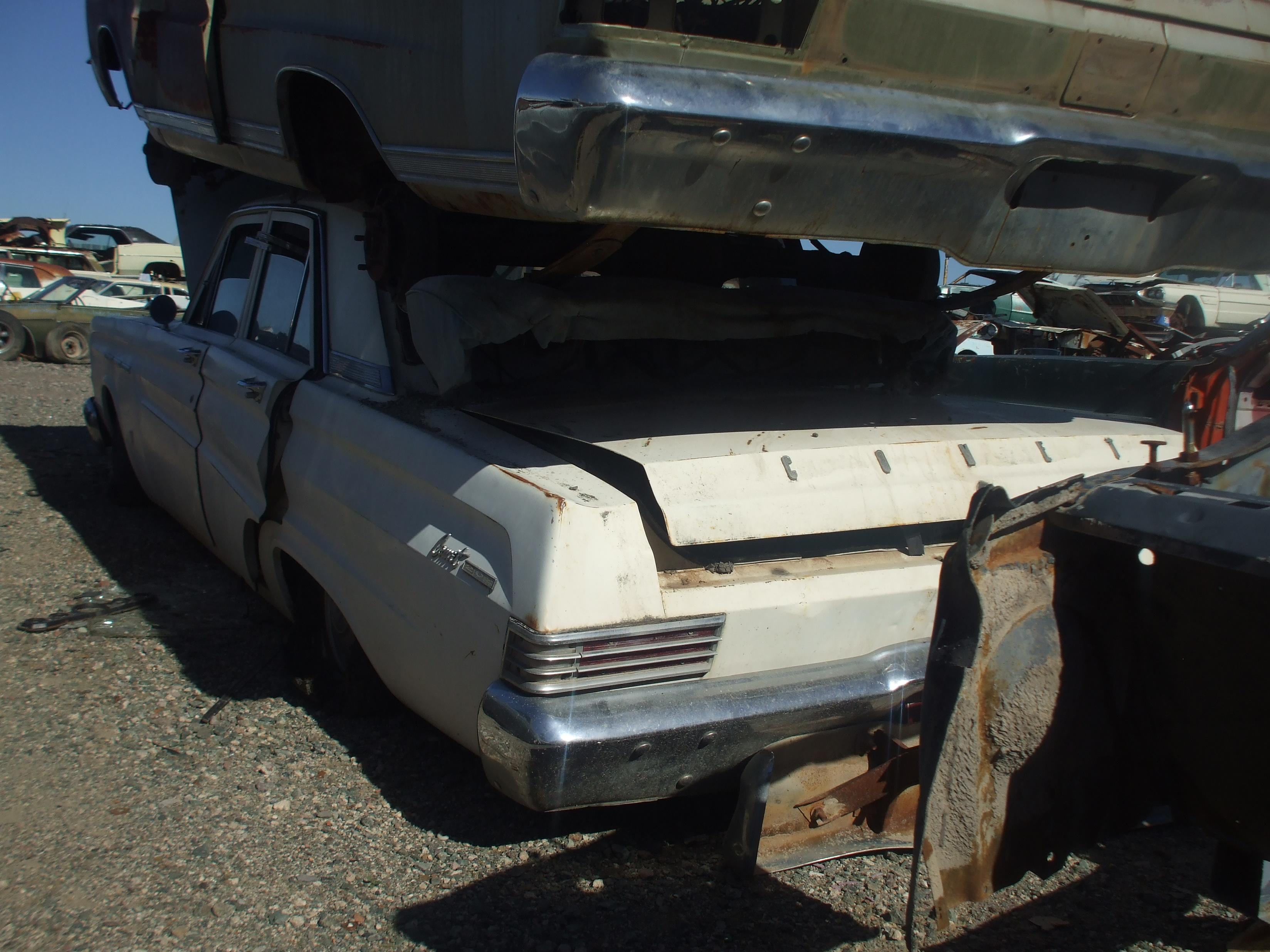 1965 Mercury Comet 4dr 65me7965d Desert Valley Auto Parts