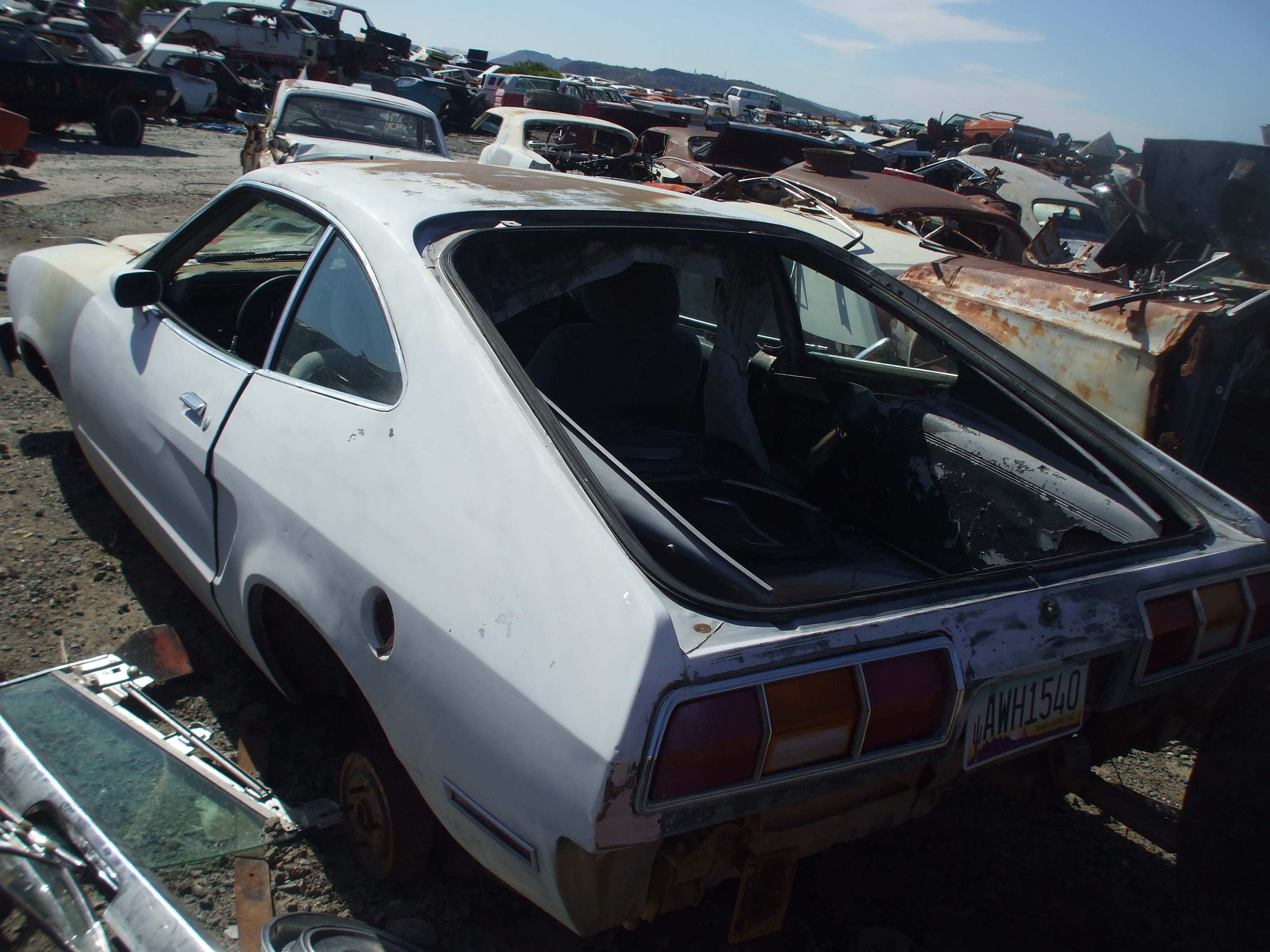 1974 Ford Mustang Ii 74fo6125d Desert Valley Auto Parts