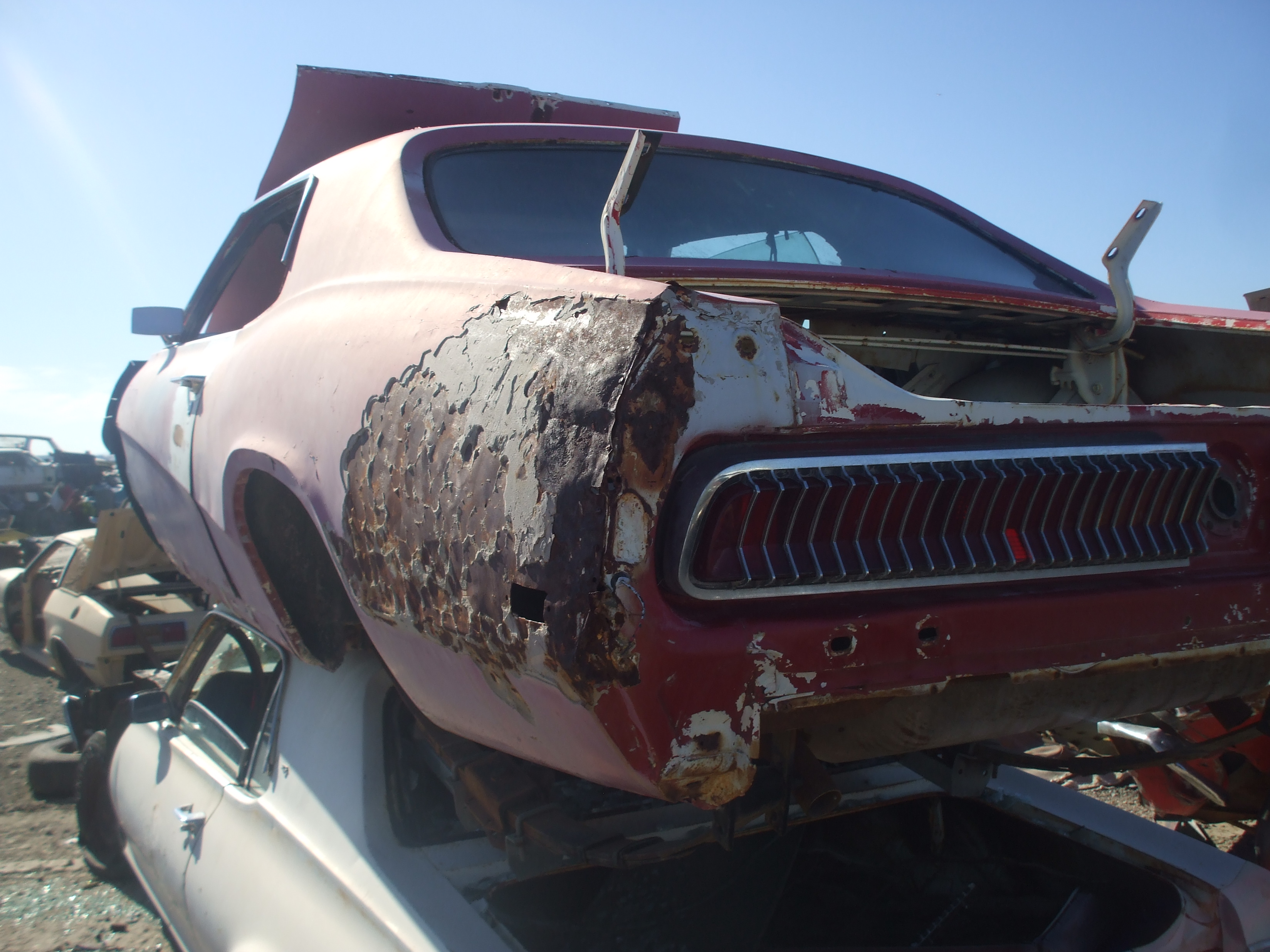 1970 cougar mercury parts salvage dvap auto yard cars project valley