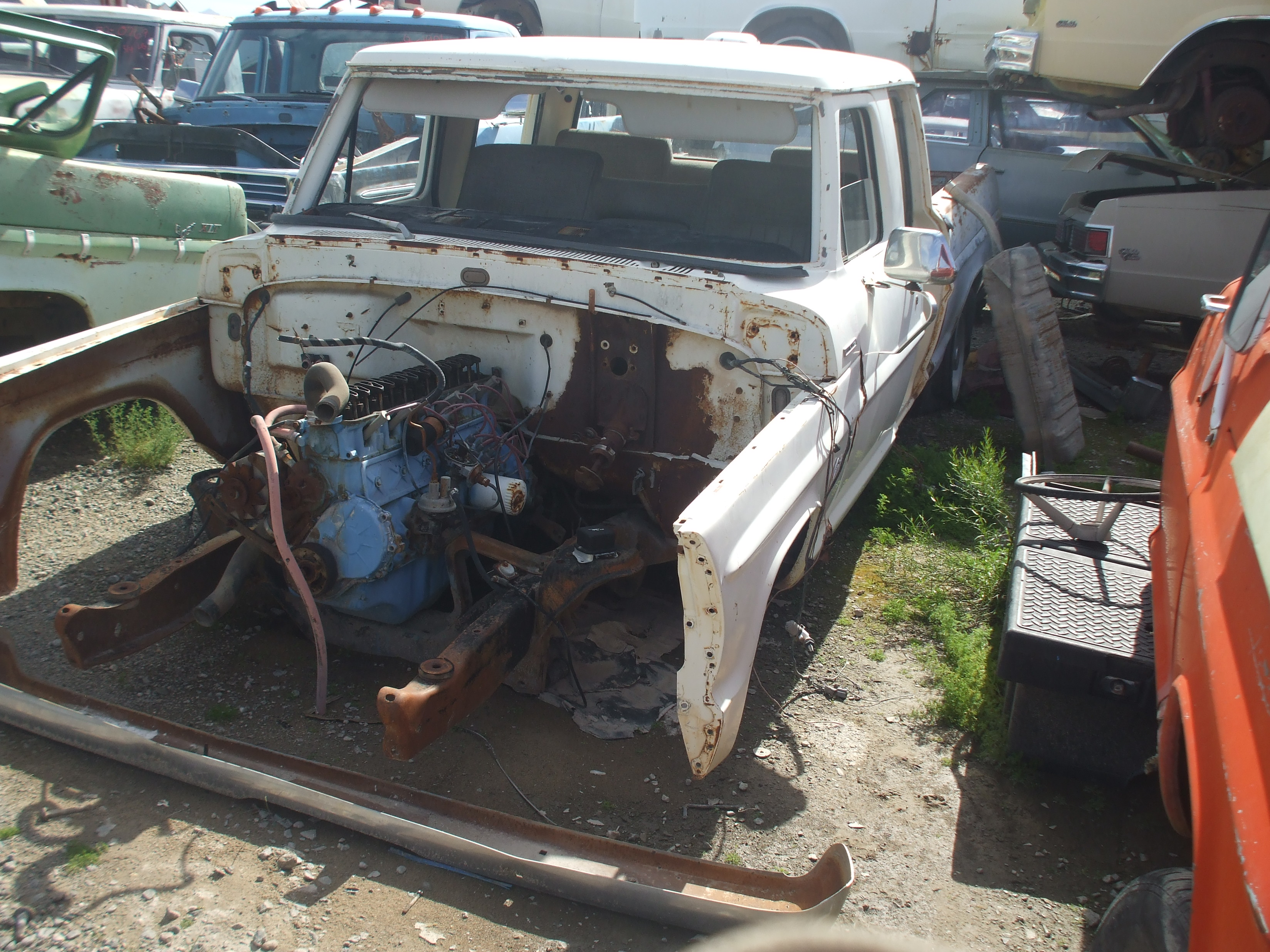 1970 Ford F250 Crew Cab 70fo3271d Desert Valley Auto Parts