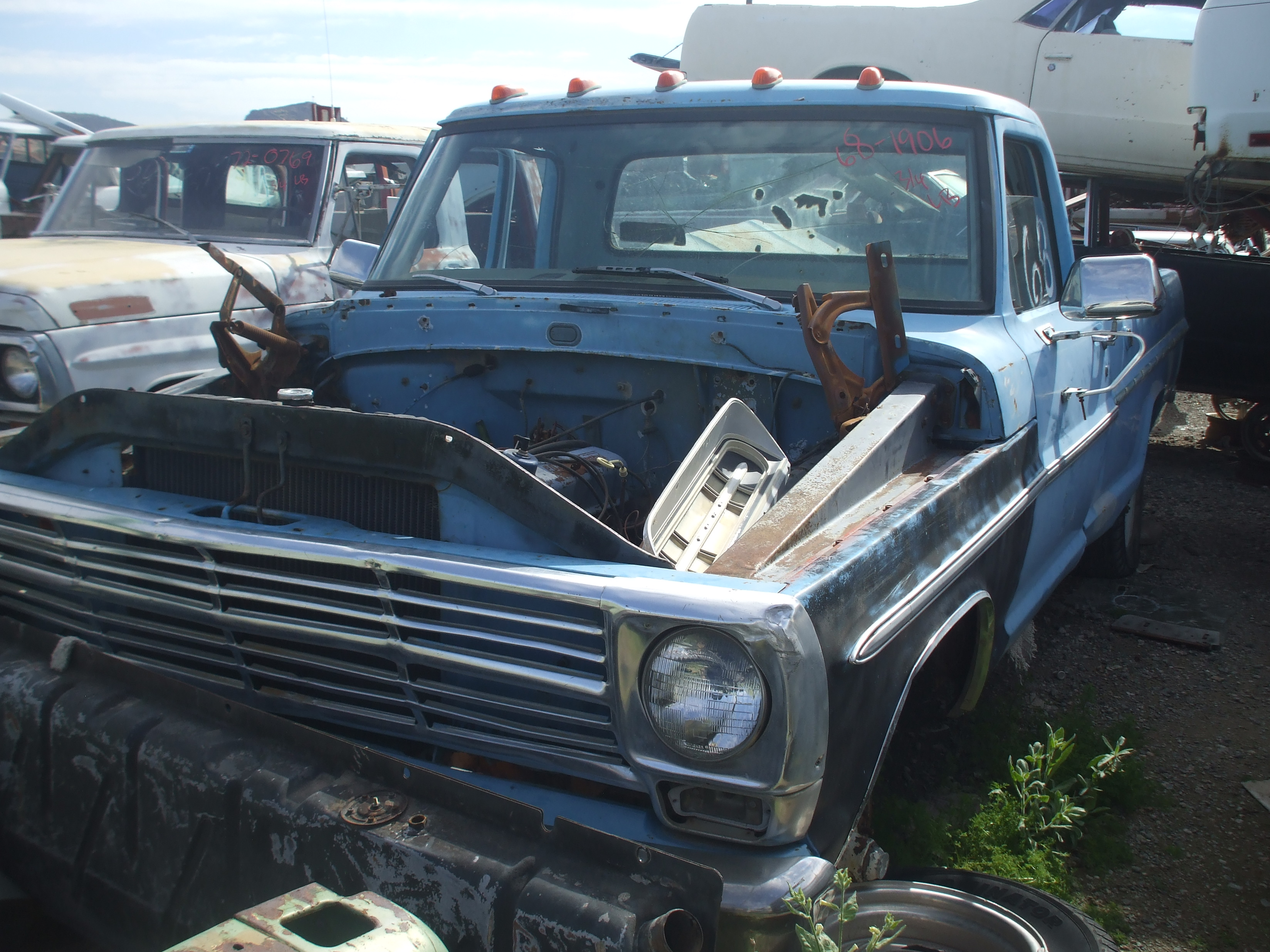 1968 Ford F250 68fo1906d Desert Valley Auto Parts