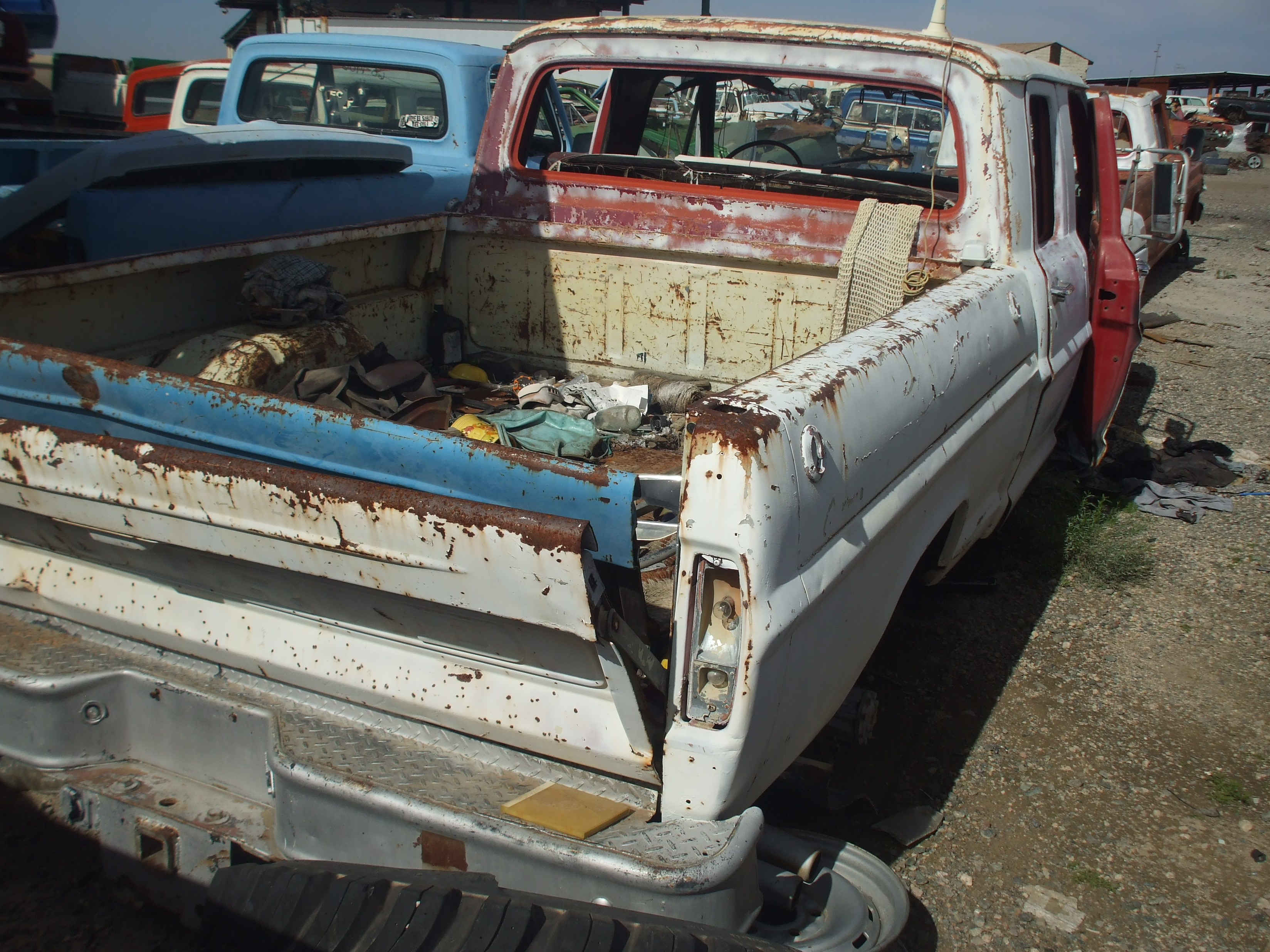 1972 Ford F250 Crew Cab (#72FO0769D)   Desert Valley Auto Parts
