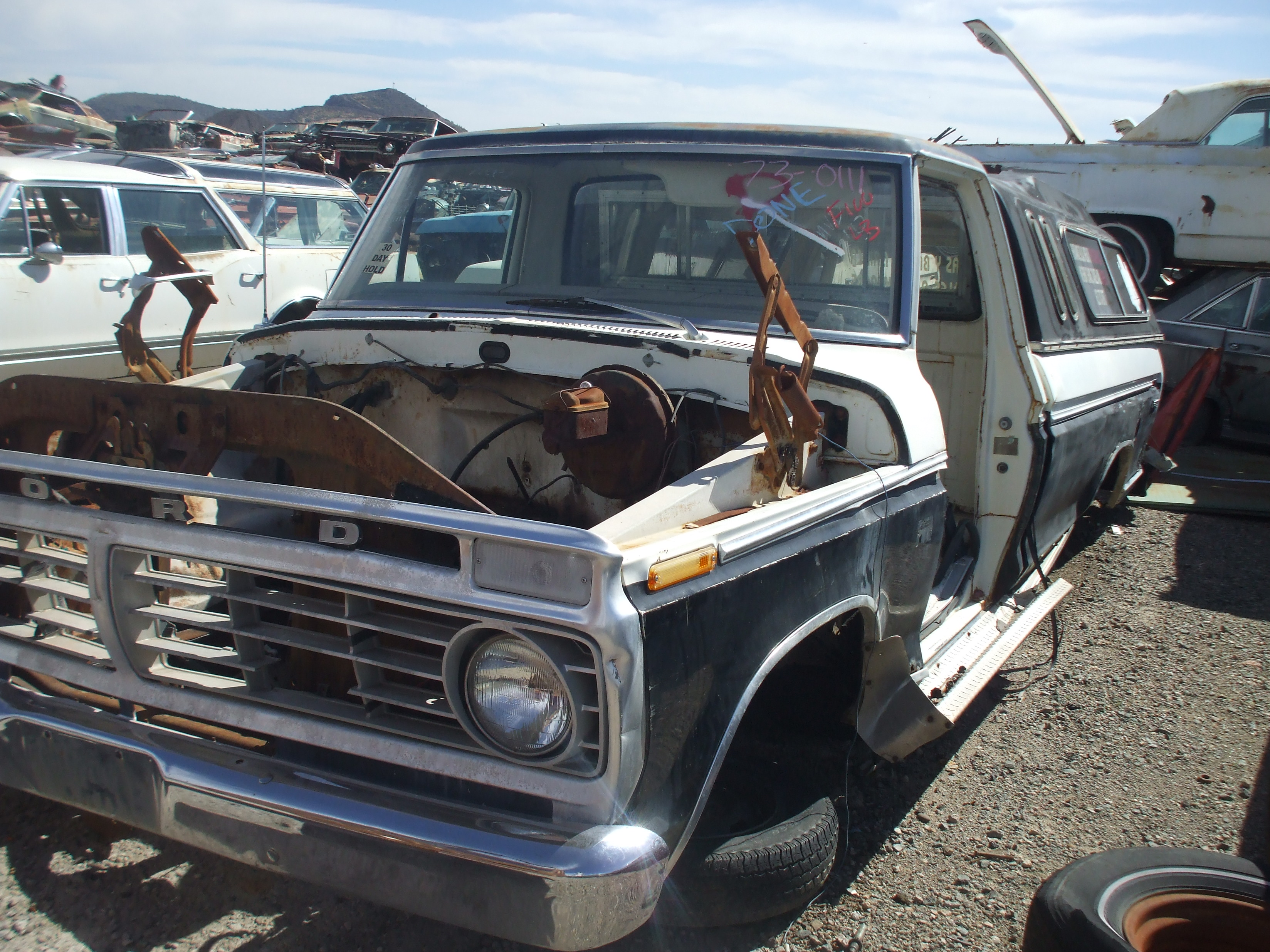 1973 Ford F100 (#73FO0111D) | Desert Valley Auto Parts - photo#49