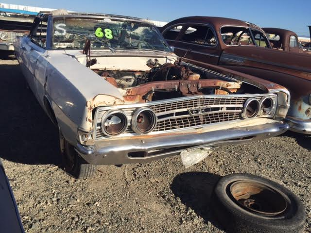 1968 ford torino 2dr convertible   68fo2743