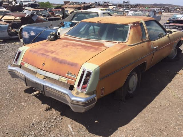 1974 oldsmobile cutlass salon 2dr ht 740l8943d desert for 1974 cutlass salon