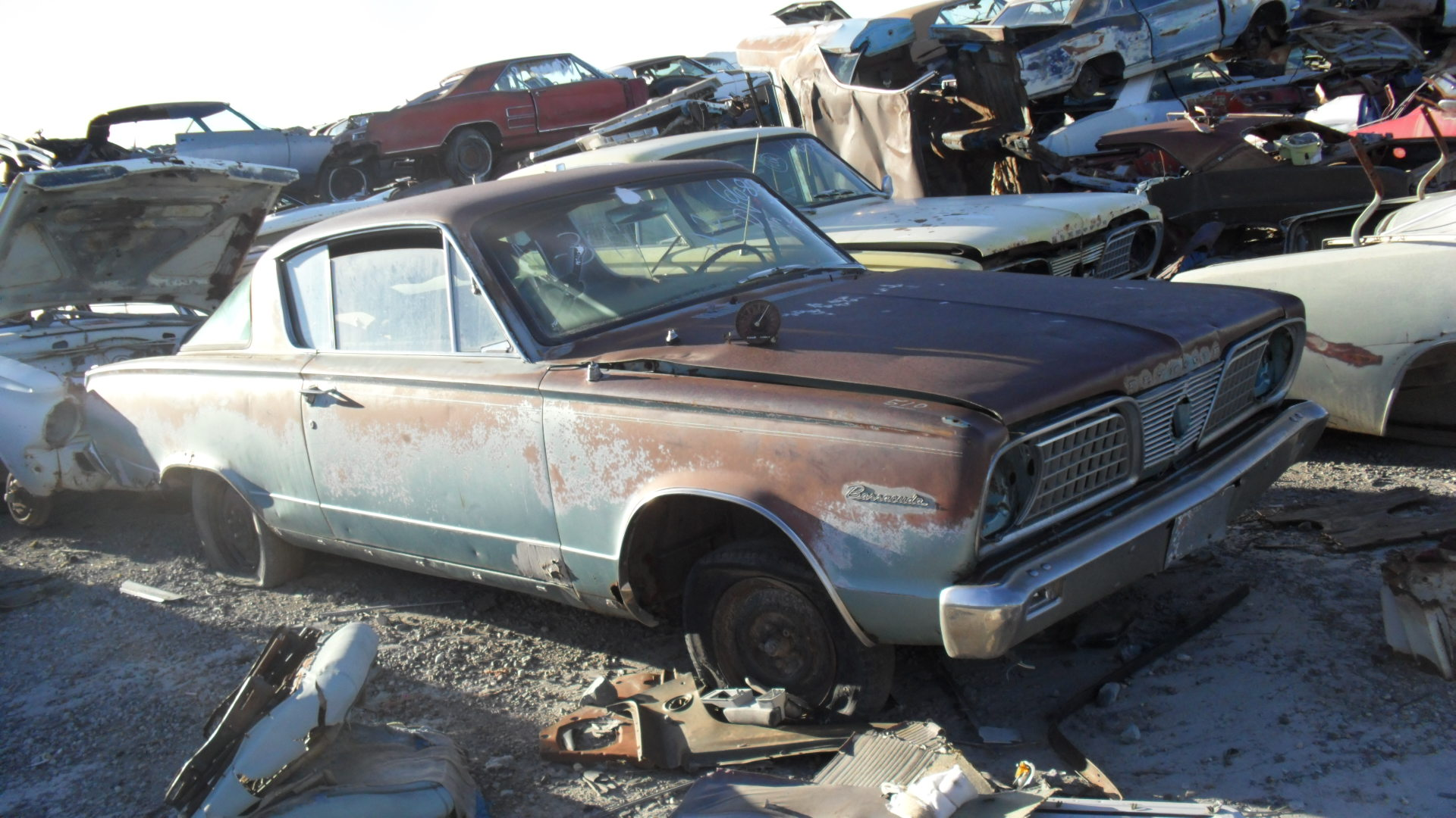 1966 Plymouth Barracuda (#66PL8092D) | Desert Valley Auto Parts