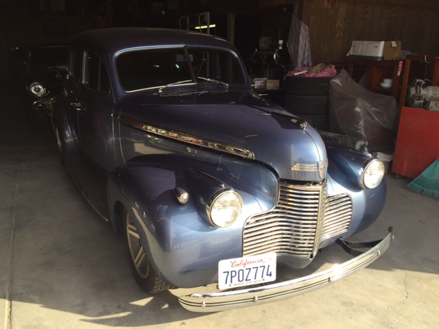 1940 Chevrolet Special Deluxe 4dr Custom 40ch6870r