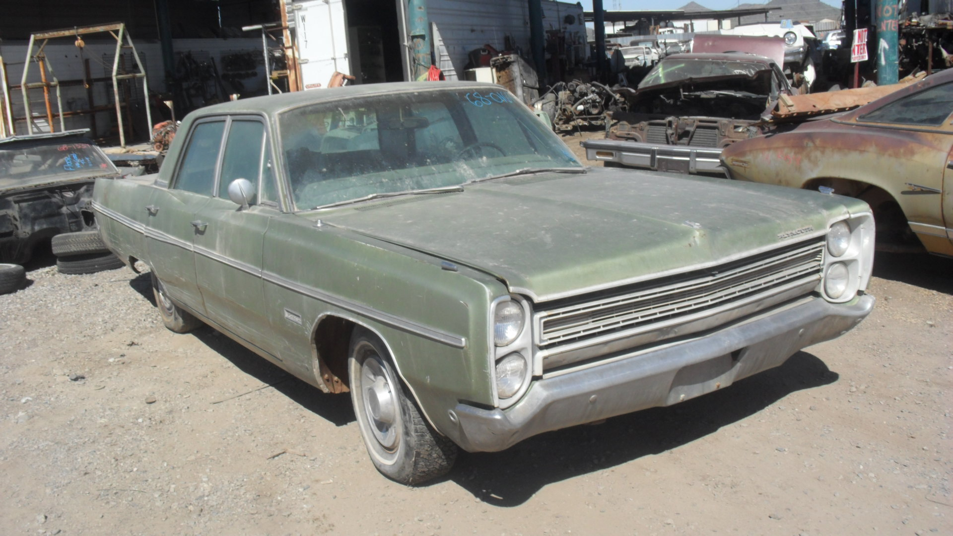 1968 Plymouth Fury Iii 68pl0167d Desert Valley Auto Parts