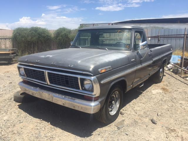 Kings Auto Sales >> 1970 Ford F250 Camper Special Custom Long Bed Fleetside (#70F07673D) | Desert Valley Auto Parts