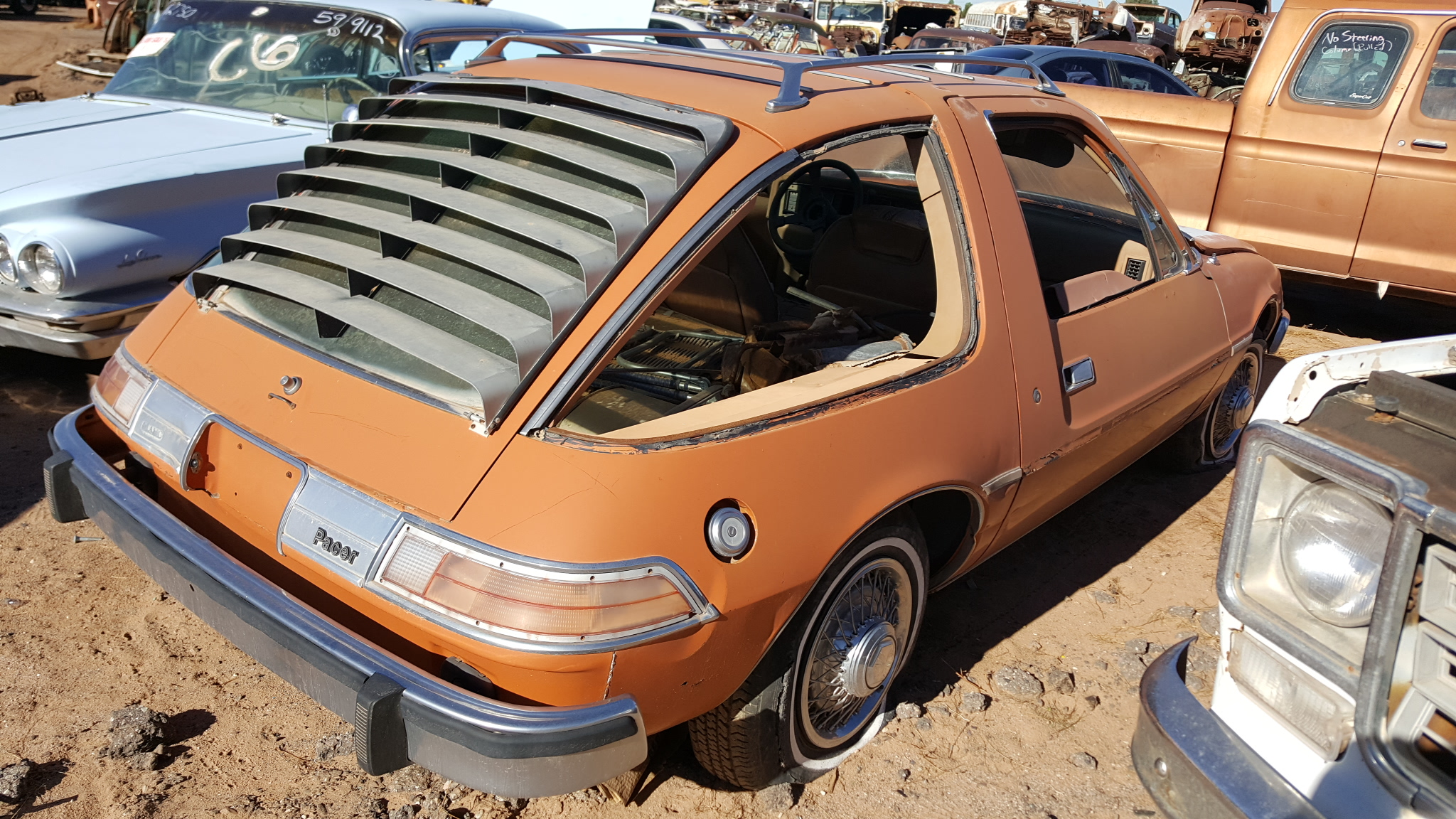 1977 amc pacer 77am0625c desert valley auto parts. Black Bedroom Furniture Sets. Home Design Ideas