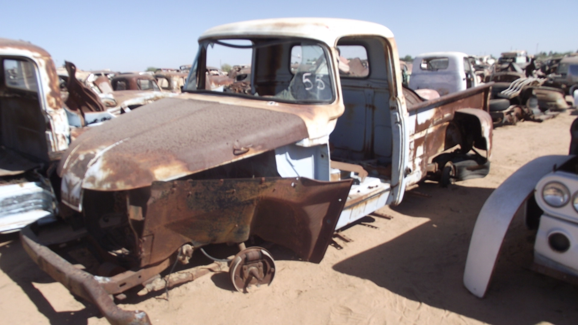 1955 Dodge Truck 55donv11c Desert Valley Auto Parts