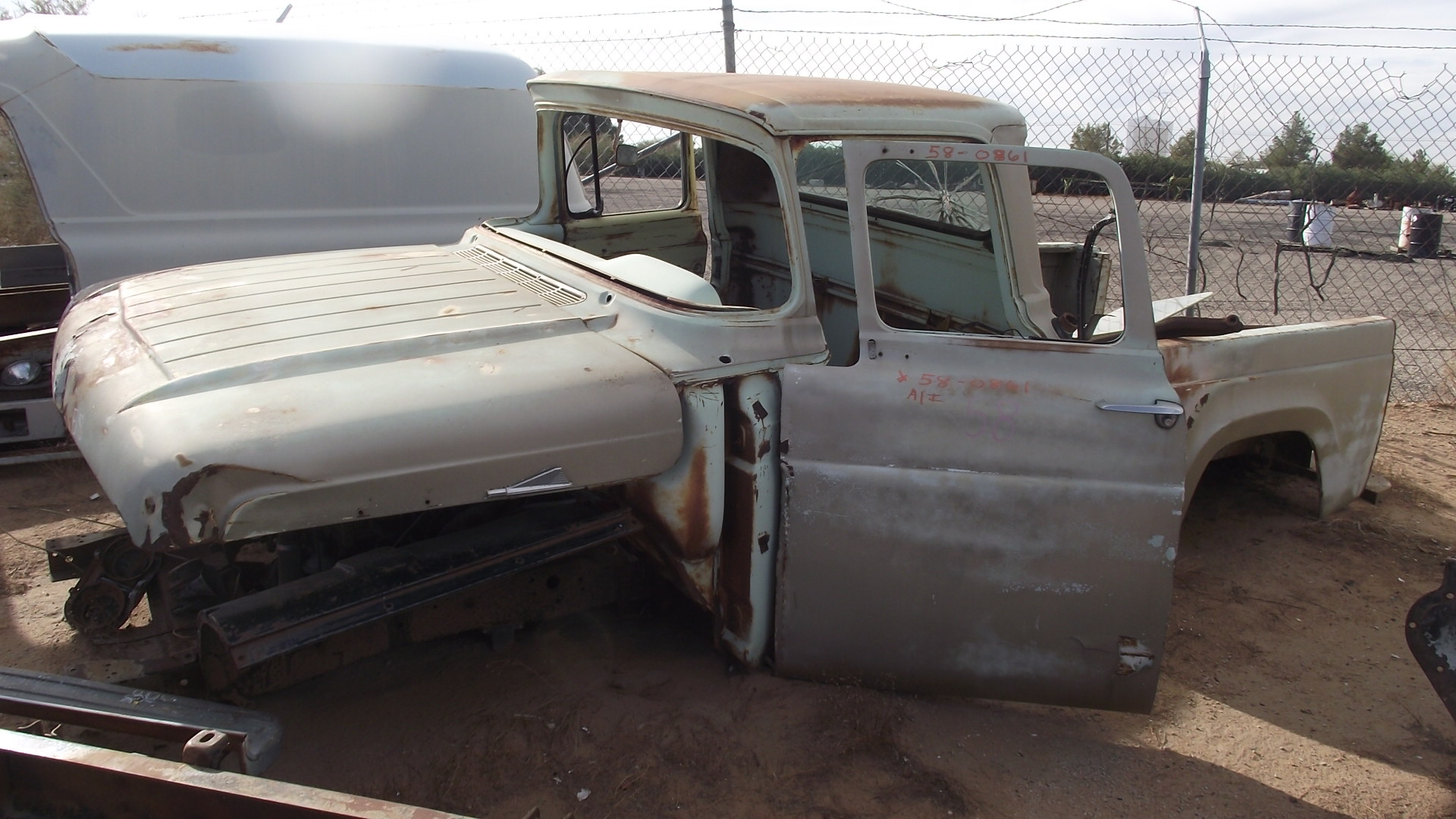 1958 Ford F100 (#58FO0861C) | Desert Valley Auto Parts