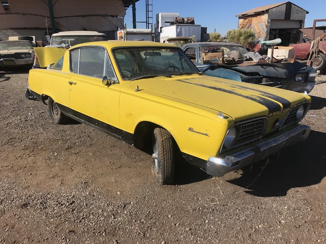 1966 Plymouth Barracuda 2DR HT (#66PL2294D) | Desert Valley