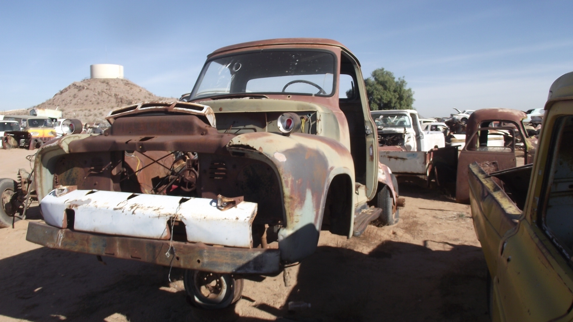 1954 Ford F100 54fo2075c Desert Valley Auto Parts Pickup Truck F 100