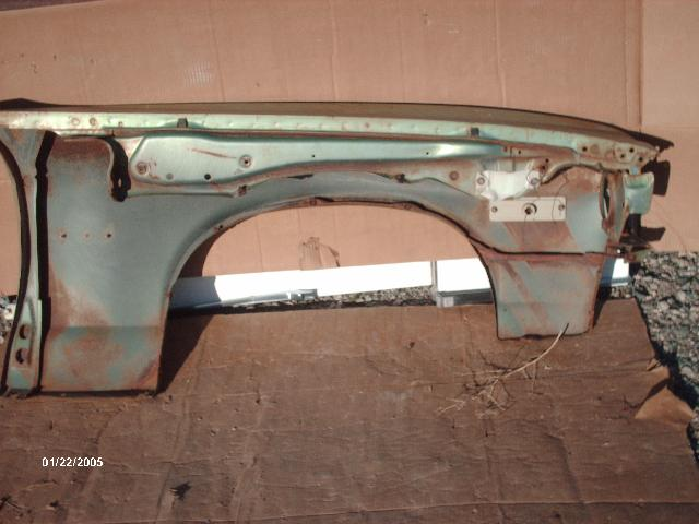 Kings Auto Body >> 1974 Pontiac Ventura Driver Front Fender (#773) | Desert Valley Auto Parts