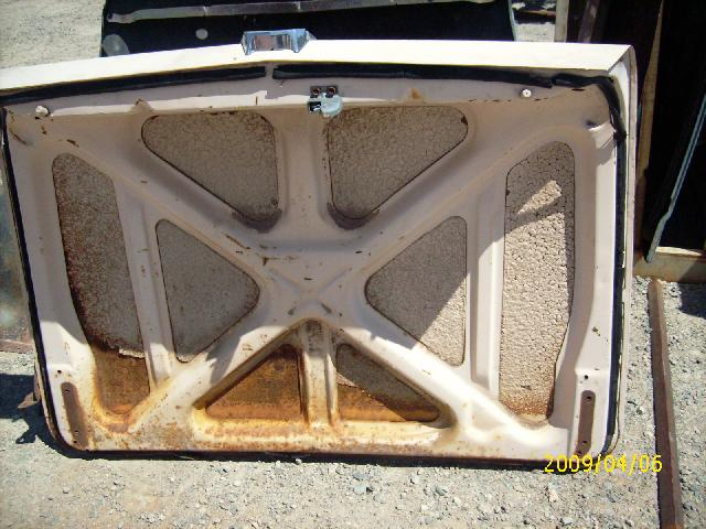 1959 Ford Galaxie Trunk Lid 952 Desert Valley Auto Parts