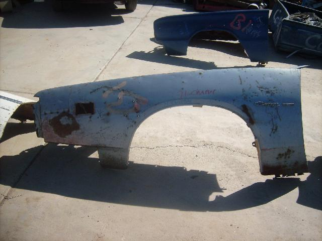 Kings Auto Body >> 1971 Dodge Charger Driver Fender (#71DGBLD) | Desert Valley Auto Parts