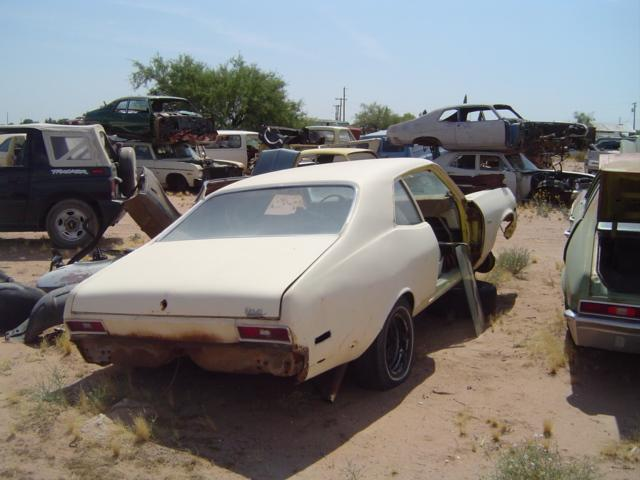 1970 Chevrolet Nova (#70CH4726C) | Desert Valley Auto Parts