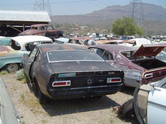 Salvage Car For Sale >> 1970 Ford Maverick (#70FO1154B) | Desert Valley Auto Parts
