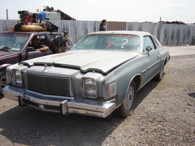 Valley Buick Gmc >> 1978 Chrysler Cordoba (#78CR6347D) | Desert Valley Auto Parts