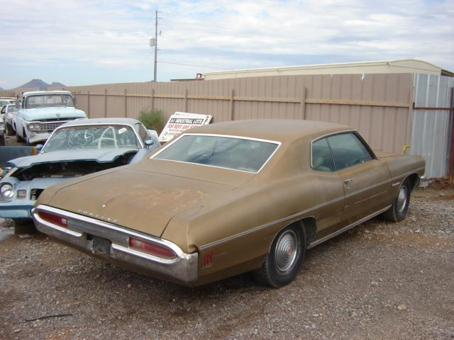 Buick T Type Parts - 1970 Pontiac Catalina (#70PO8674D) | Desert Valley Auto Parts