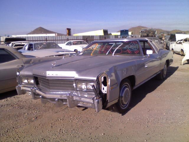 1977 cadillac eldorado 77ca6301d desert valley auto parts. Black Bedroom Furniture Sets. Home Design Ideas