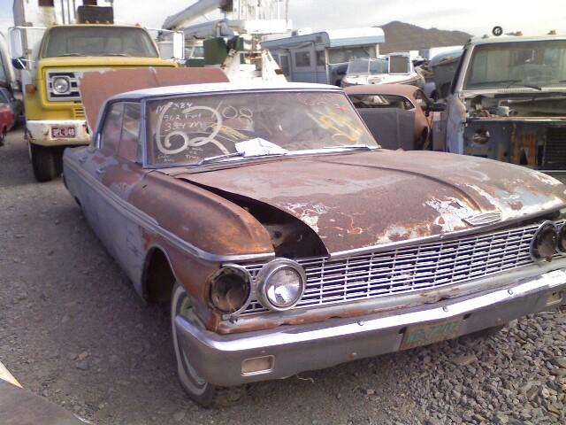 1962 Ford Galaxie 62fo0774d Desert Valley Auto Parts