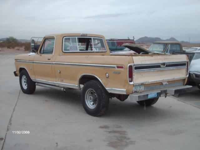 1973 ford truck parts