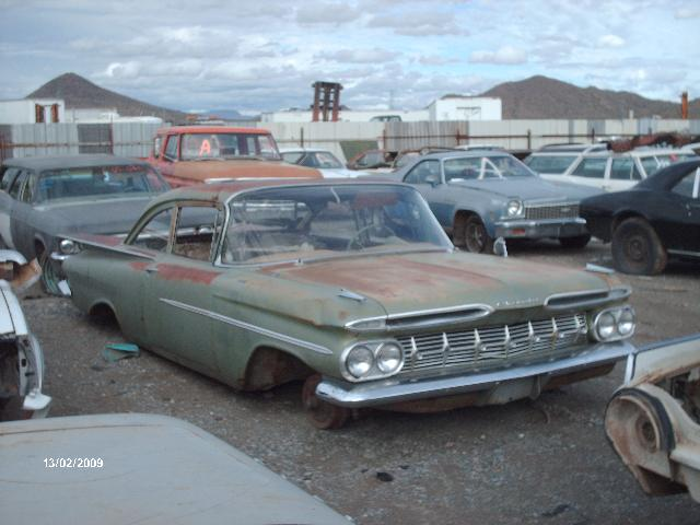 1959 chevrolet biscayne (#59ch8777c) | desert valley auto parts