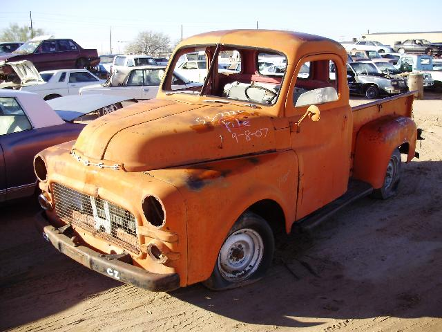 Dodge Truck Salvage Yards >> 1953 Dodge-Truck Dodge (#537726C) | Desert Valley Auto Parts