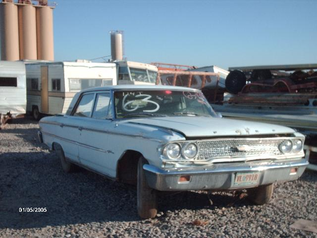 1963 ford galaxie 63fo1938d desert valley auto parts. Black Bedroom Furniture Sets. Home Design Ideas