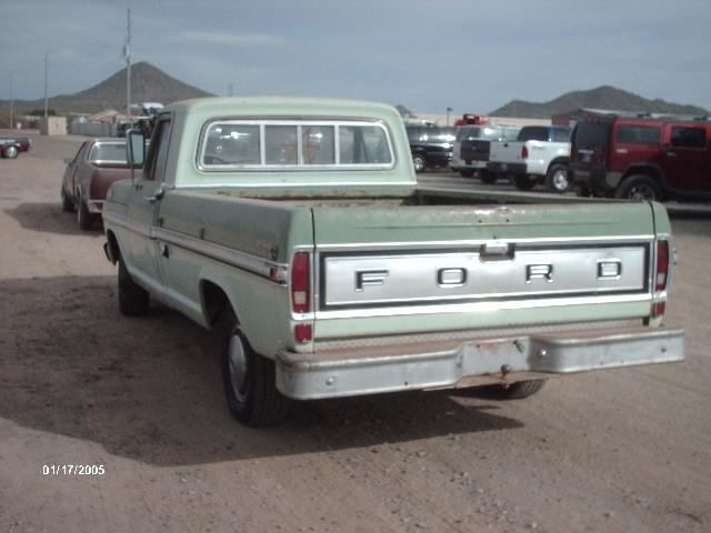 1971 Ford-Truck F150 (#710588D) | Desert Valley Auto Parts