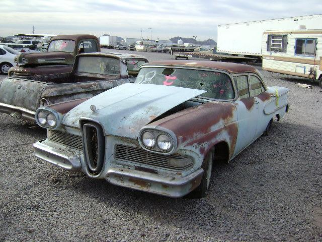 1958 Edsel Ford Car 582454c Desert Valley Auto Parts