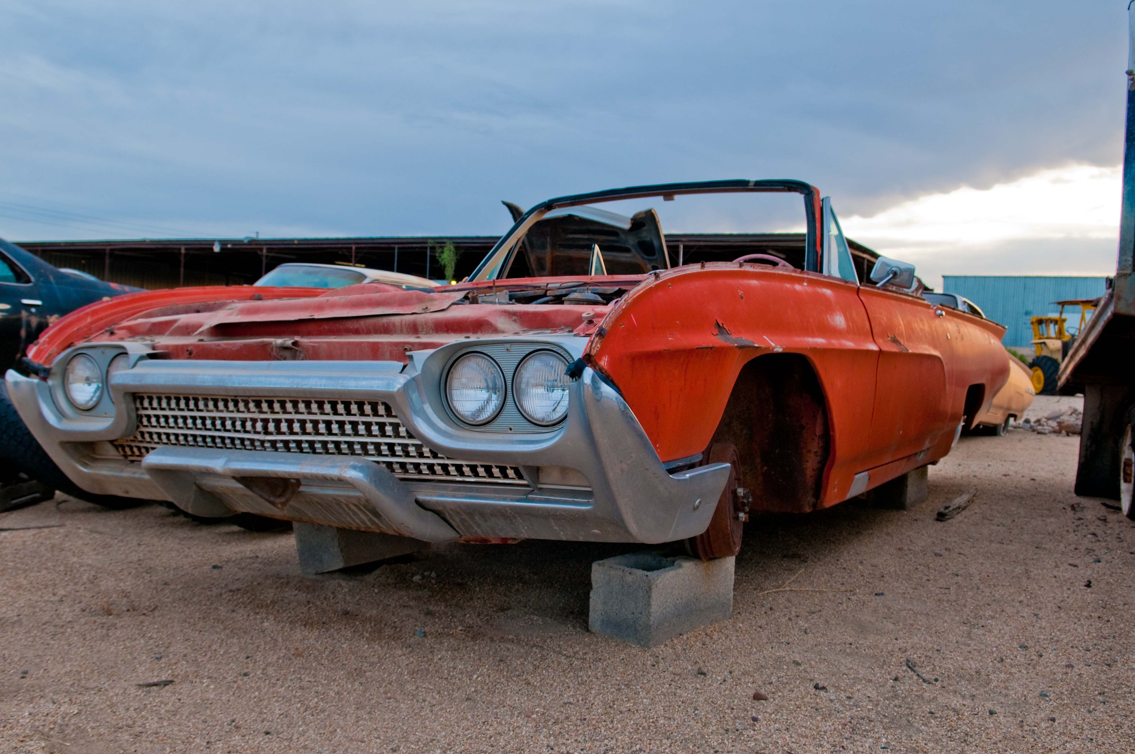 1963 Ford Thunderbird 63fotbr Desert Valley Auto Parts