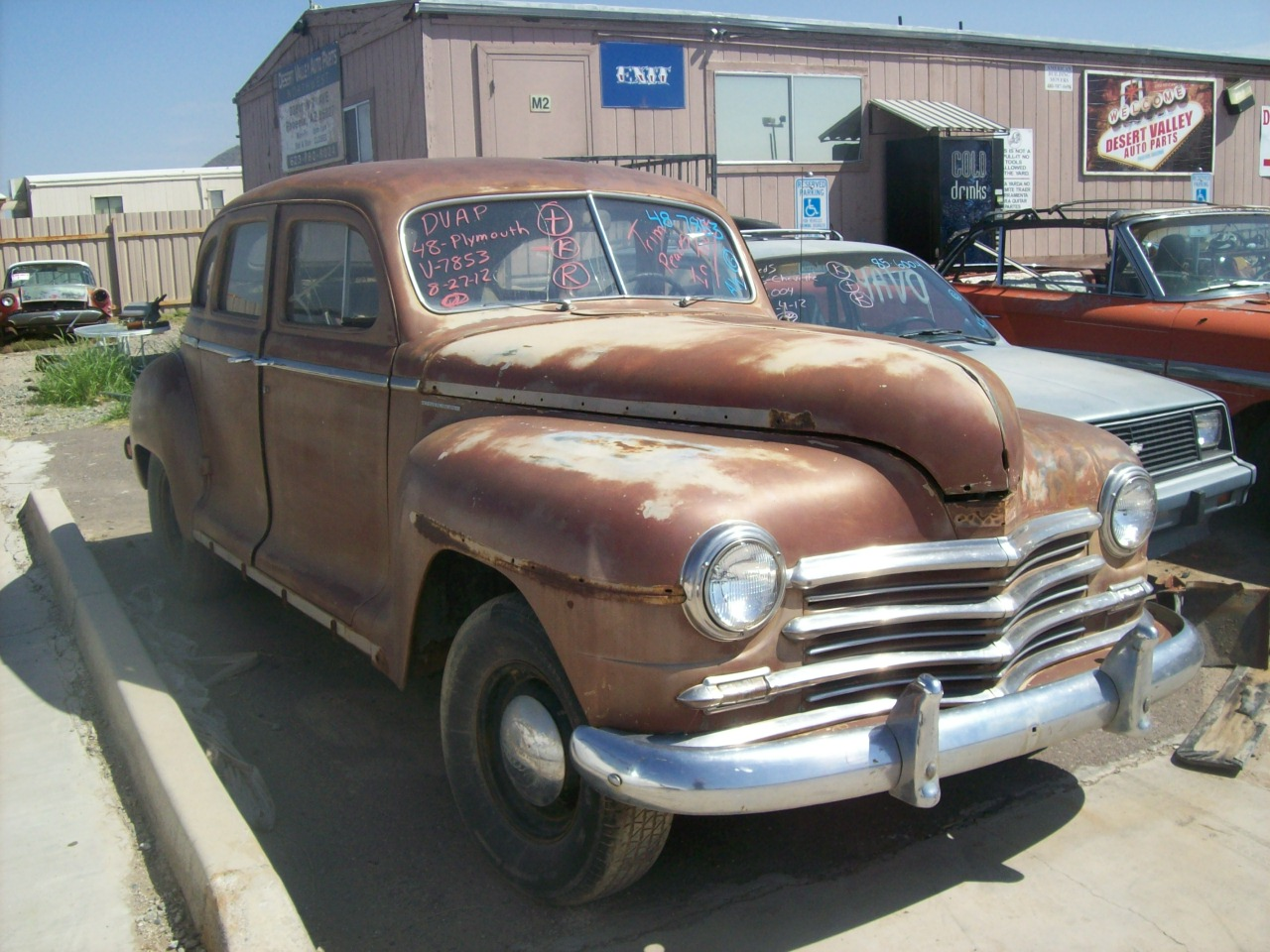 1948 Plymouth Deluxe 48pl7853c Desert Valley Auto Parts