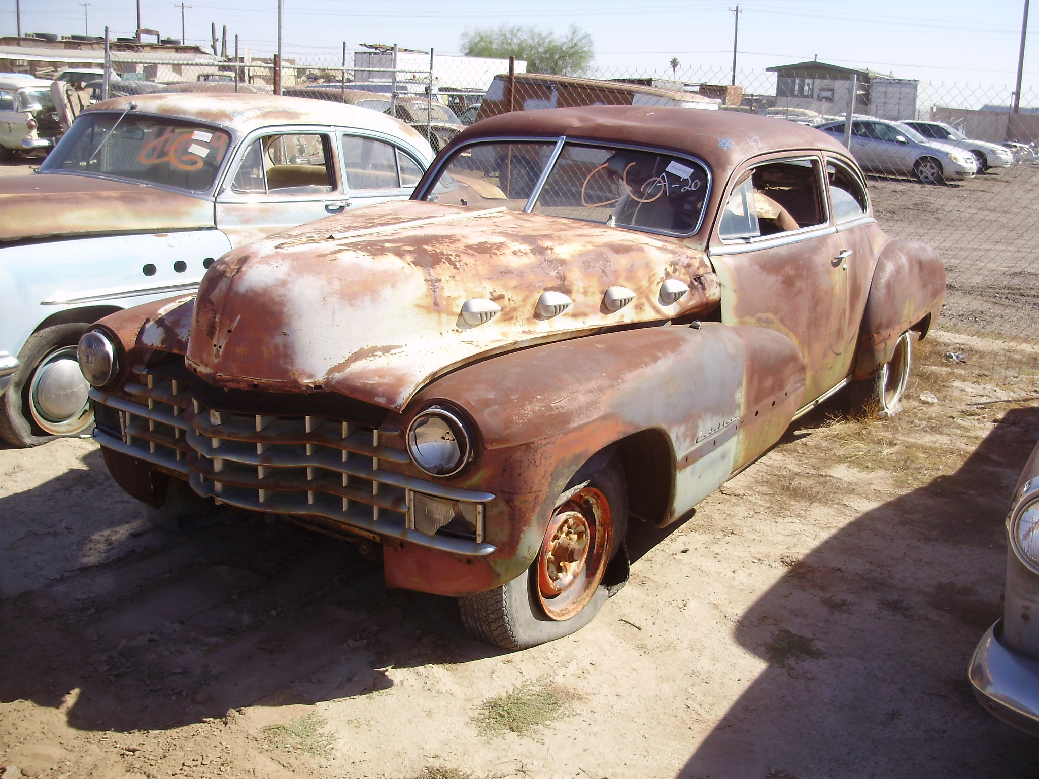 1947 Cadillac Coupe (#47CA1383C) | Desert Valley Auto Parts